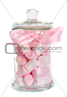 candy in bottle