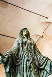 Virgin Mary Sculpture - Capitello della donazione