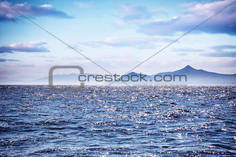 Beautiful sea landscape