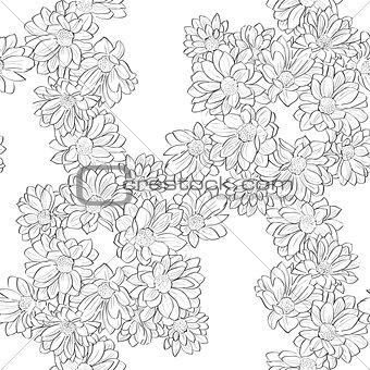 daisy bouquet pattern