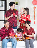 Asian Chinese New Year greeting