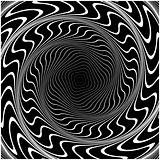 Design swirl movement illusion background
