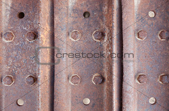 Abstract Rusty Metal Surface Background