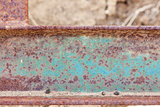 Abstract Aged Iron Beam Background