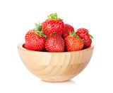 Fresh strawberry bowl
