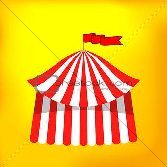 Circus Tent Icon