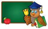 Owl teacher theme image 8