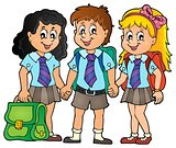 School pupils theme image 3