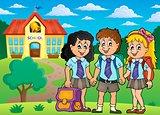 School pupils theme image 4