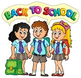 School pupils theme image 5