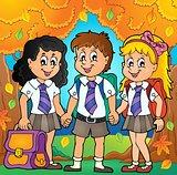 School pupils theme image 6
