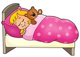 Sleeping child theme image 1