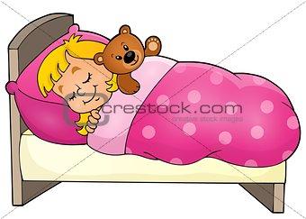 Sleeping child theme image 1