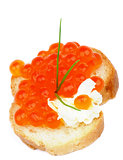 Red Caviar Snack