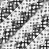 Design seamless diagonal zigzag pattern