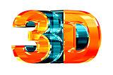 3D Glass Logo