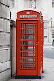 Red London Telephone Box
