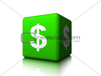 American Dollar in a Box