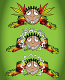 cannabis marijuana happy recreational smoker vector illustration