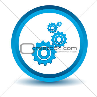 Blue mechanism icon