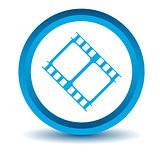 Blue movie icon