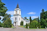 Hamina, Finland.  St. Mary church