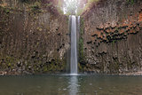 Abiqua Falls in Oregon Closeup