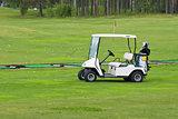 Golf car.