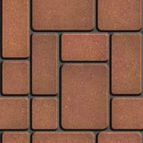 Brown Tiles of Different Rectangular Shapes.