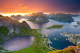 Lofoten Islands.