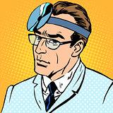 Doctor otolaryngologist