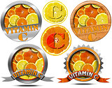Vitamin C - Collections of Icons