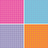 diamond pattern background collection in multiple mixed colors