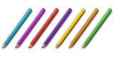 Colorful pnecils set