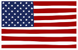 america USA stars and stripes flag stylized
