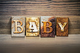 Baby Concept Letterpress Theme