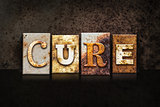 Cure Letterpress Theme on Black