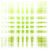 Green dot with white background