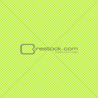 Green and white gingham background texture