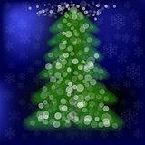 Blurred Pine