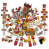 Ancient Aztec God