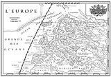Old European map