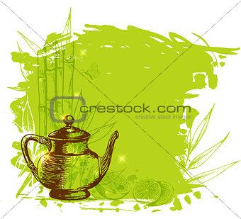 Green fruit tea
