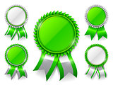 Green Award Medals