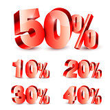 Collection of Discount Numbers