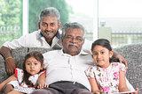 Multi generations family