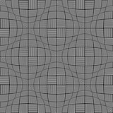 Seamless twisting checked pattern.