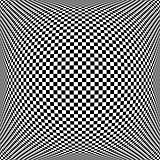 Op art chequered pattern. Textured background.