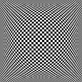 Op art chequered pattern. Textured background.