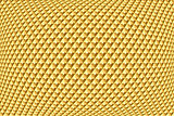 Golden geometric pattern. Abstract textured background.